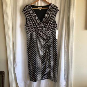London Style Collection wrap style dress size 18